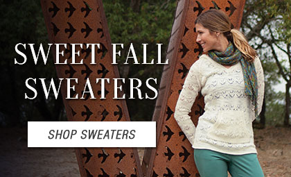 Sweet Fall Sweaters