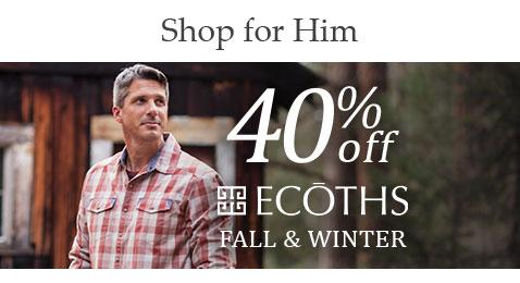 Shop 40% off Men's