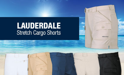 Sportif USA - Stretch Cargo Shorts
