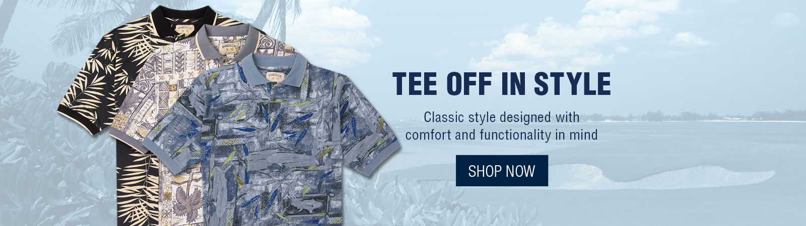 Tee off in style - Polo Shirts