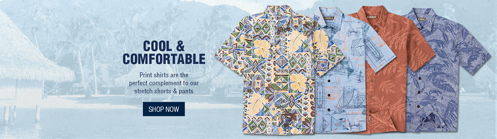 Cool & Comfortable - Print Shirts