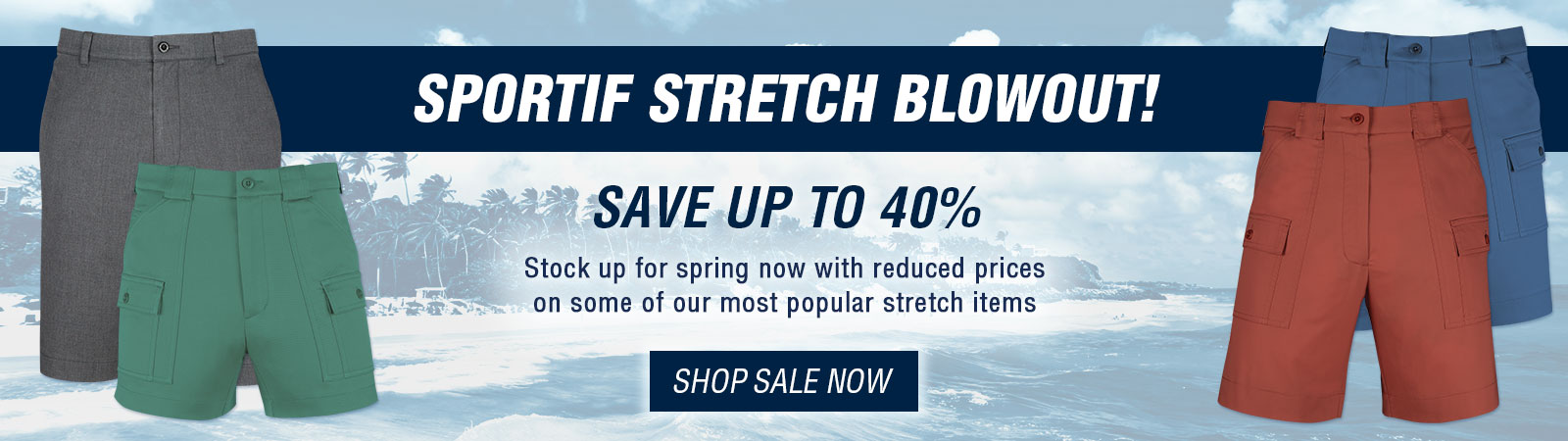 Sportif Stretch Blowout - Sale Stretch