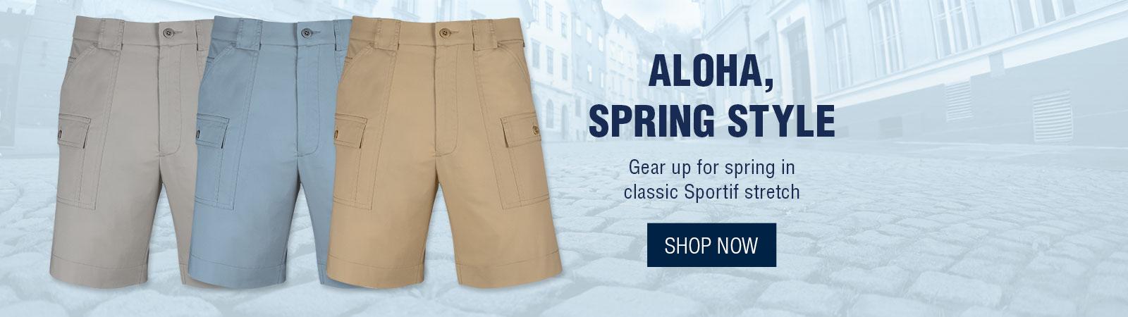 Aloha, Spring Style - Shorts