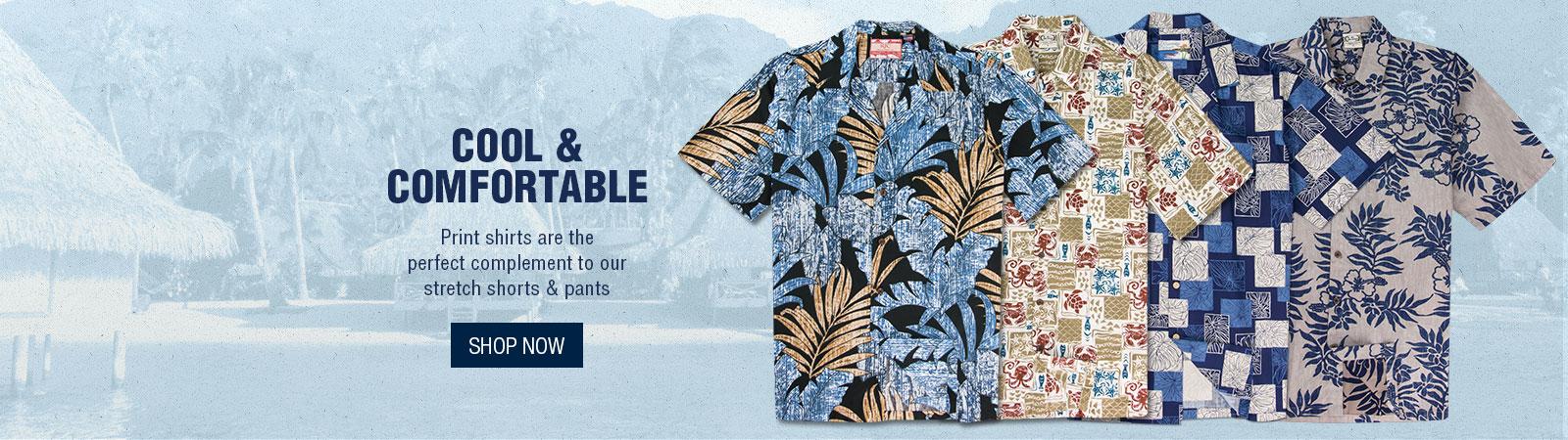 Cool & Comfortable - Print Shirts