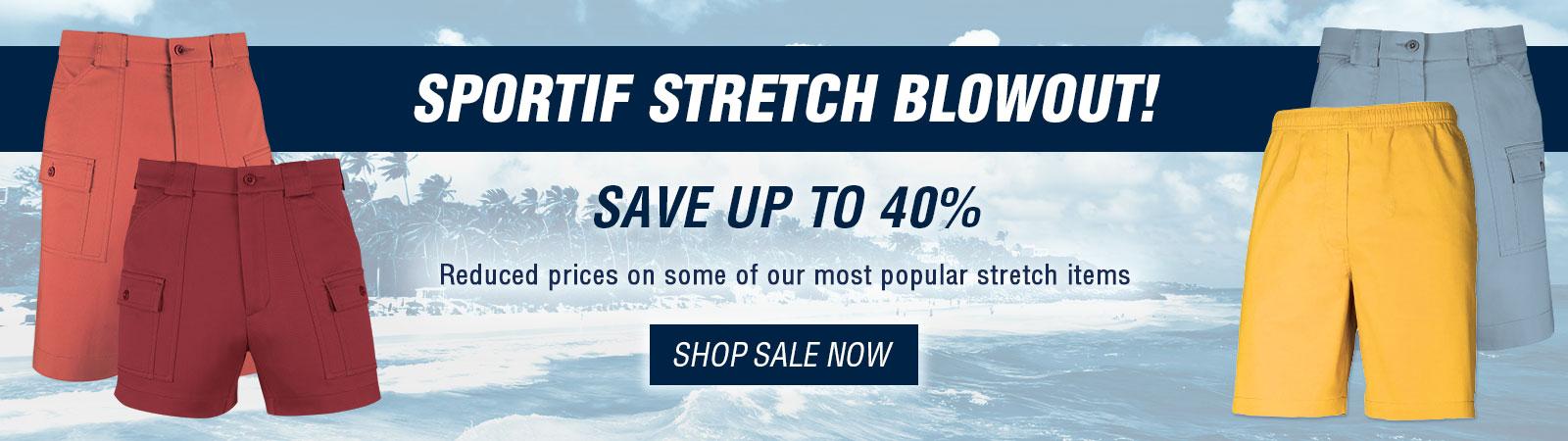 Sportif Stretch Blowout - Sale Stretch