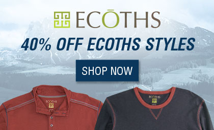 40% off ECOTHS - Shop Now