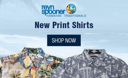 Reyn Spooner Print Shirts