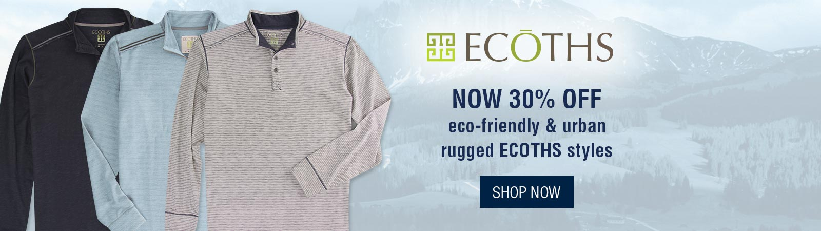 Ecoths Styles Now 30% Off