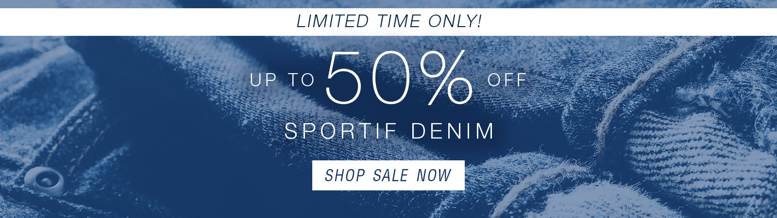 Shop up to 50% Off Sportif Denim