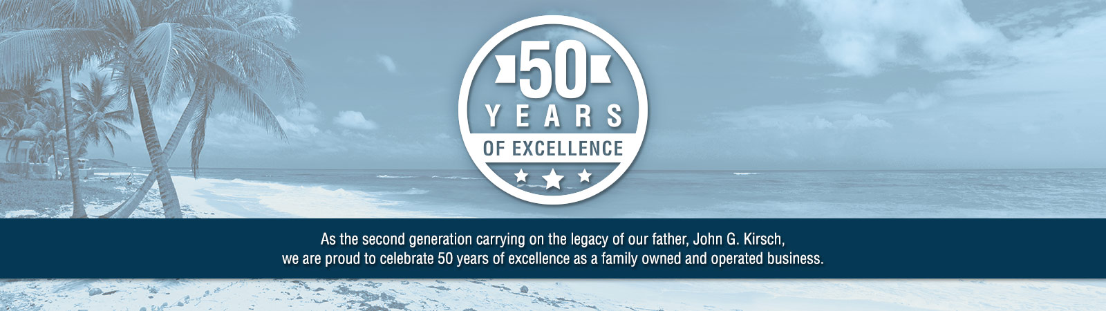 50 Years of Excellence - Our Legacy