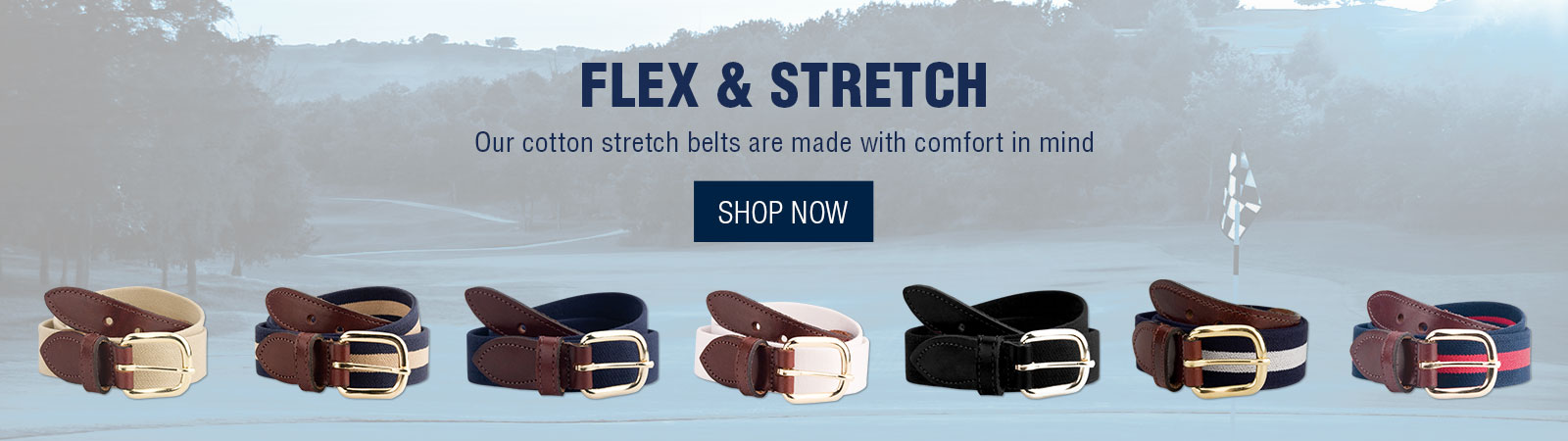 Flex & Stretch - Cotton Belts