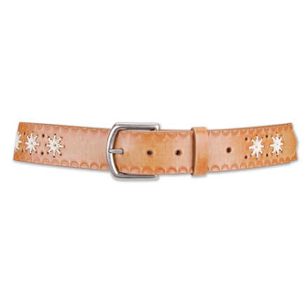 Embossed Flower Belt 1