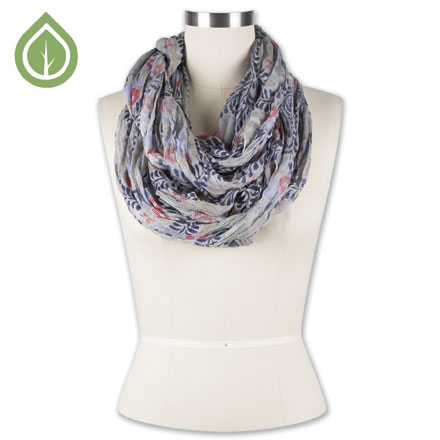 Bouquet Infinity Scarf 1