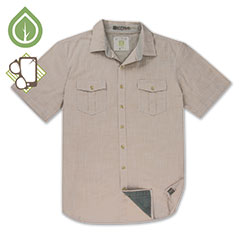 Ecoths Caselton Shirt Natural