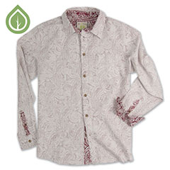 Ecoths Gulliver Shirt Brick Red