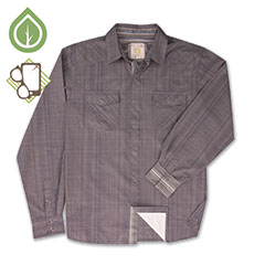Ecoths Rupert Shirt Griffin Grey