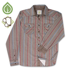 Ecoths Leo Shirt Chocolate Chip