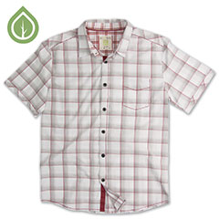 Ecoths Knox Shirt Brick Red