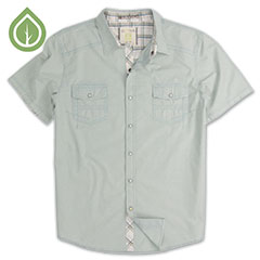 Ecoths Carson Shirt Lake Blue