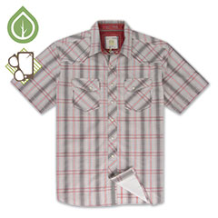 Ecoths Waylon Shirt Griffin Grey