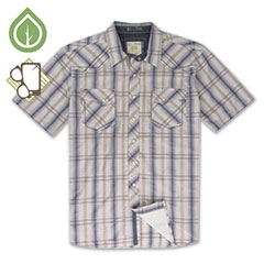 Ecoths Waylon Shirt Coastal Fjord