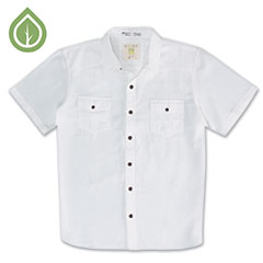 Ecoths Soren Shirt White