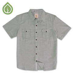 Ecoths Soren Shirt Silver Blue