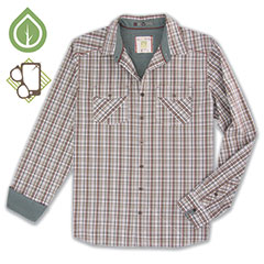 Ecoths Brooks Shirt Thyme
