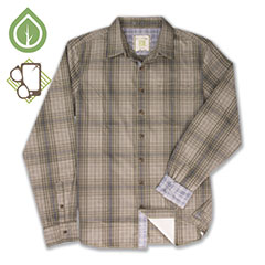 Ecoths Dover Shirt Gravel