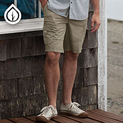 Ecoths Titan Cargo Short Gravel
