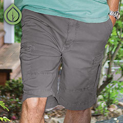 Ecoths Titan Cargo Short Griffin Grey