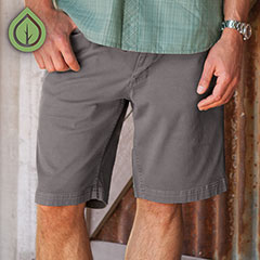 Ecoths Bronx Short Griffin Grey