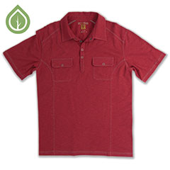 Ecoths Talon Polo Brick Red