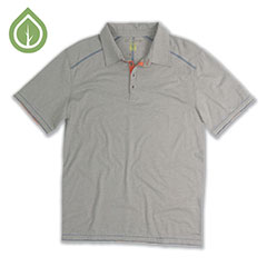 Ecoths Garrick Polo Frost Grey