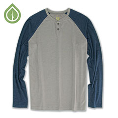 Ecoths Jace Henley Frost grey
