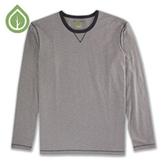 Ecoths Ezra Shirt Frost Grey