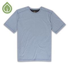 Ecoths Asher Shirt Blue Fog