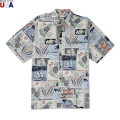 Pineapple Blocks Print Shirt