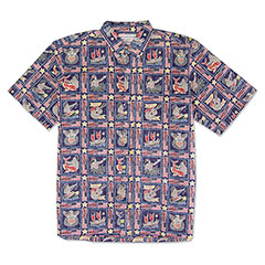 Reyn Spooner Summer Commemorative Shirt Navy