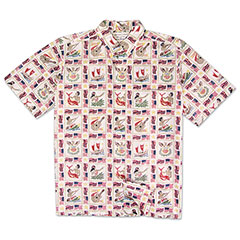 Reyn Spooner Summer Commemorative Shirt White