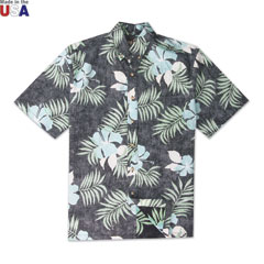 Maui No Ka Oi Print Shirt Black