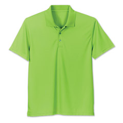 Performance Tech Polo Lime