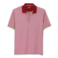 Club Stripe Polo Red