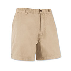 Beach Boy Full Elastic Short Khaki Tan