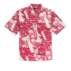 Reyn Spooner Kona Winds Print Shirt Red