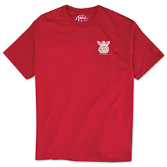 Reyn Spooner Summer Commemorative Tee Red