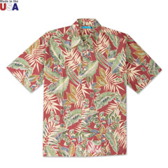 Junglelaya Print Shirt Red