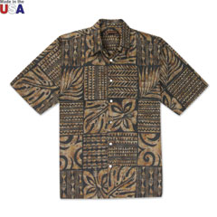 Rotuli Print Shirt Black