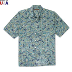Mix-N-Match Print Shirt Blue