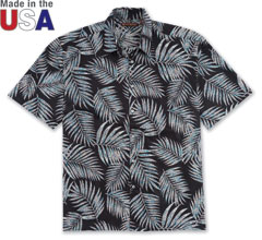 Lawsonia Print Shirt Black